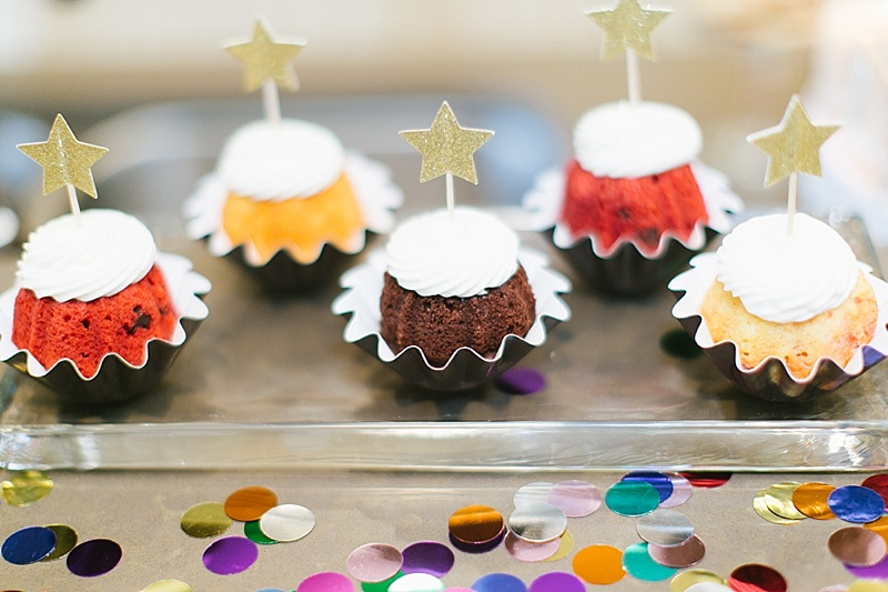 mini cupcakes, cupcakes, nothing bunt cakes