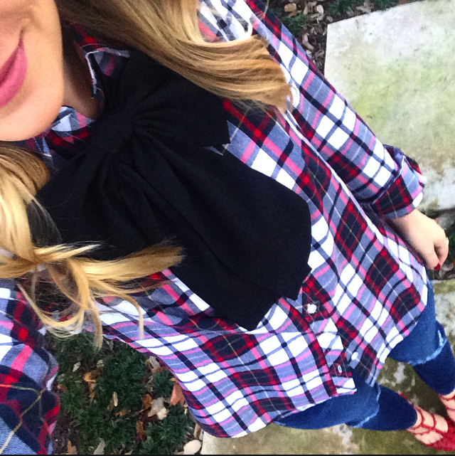 Plaid Shirt, J Crew, Bow, Girly Style, Valentino, Rockstuds