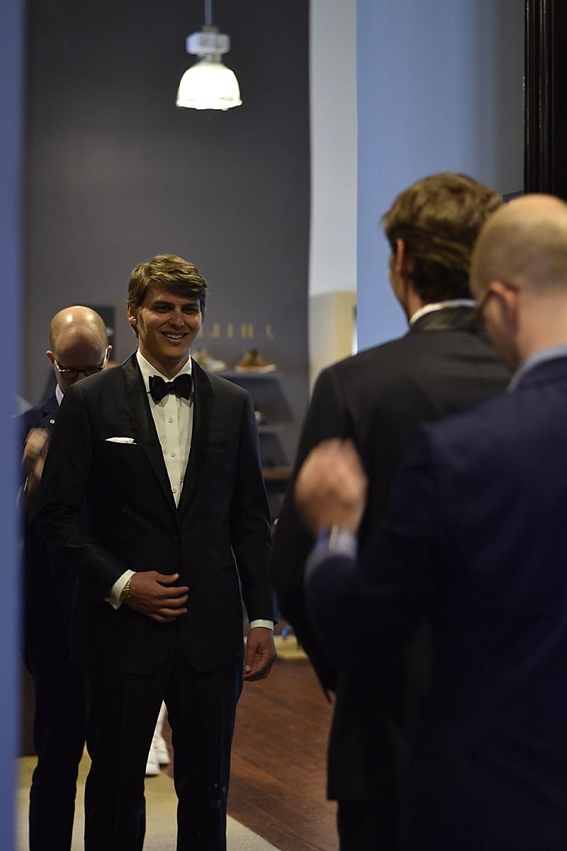 J Hilburn Wedding Wednesday Midnight Blue Tuxedo