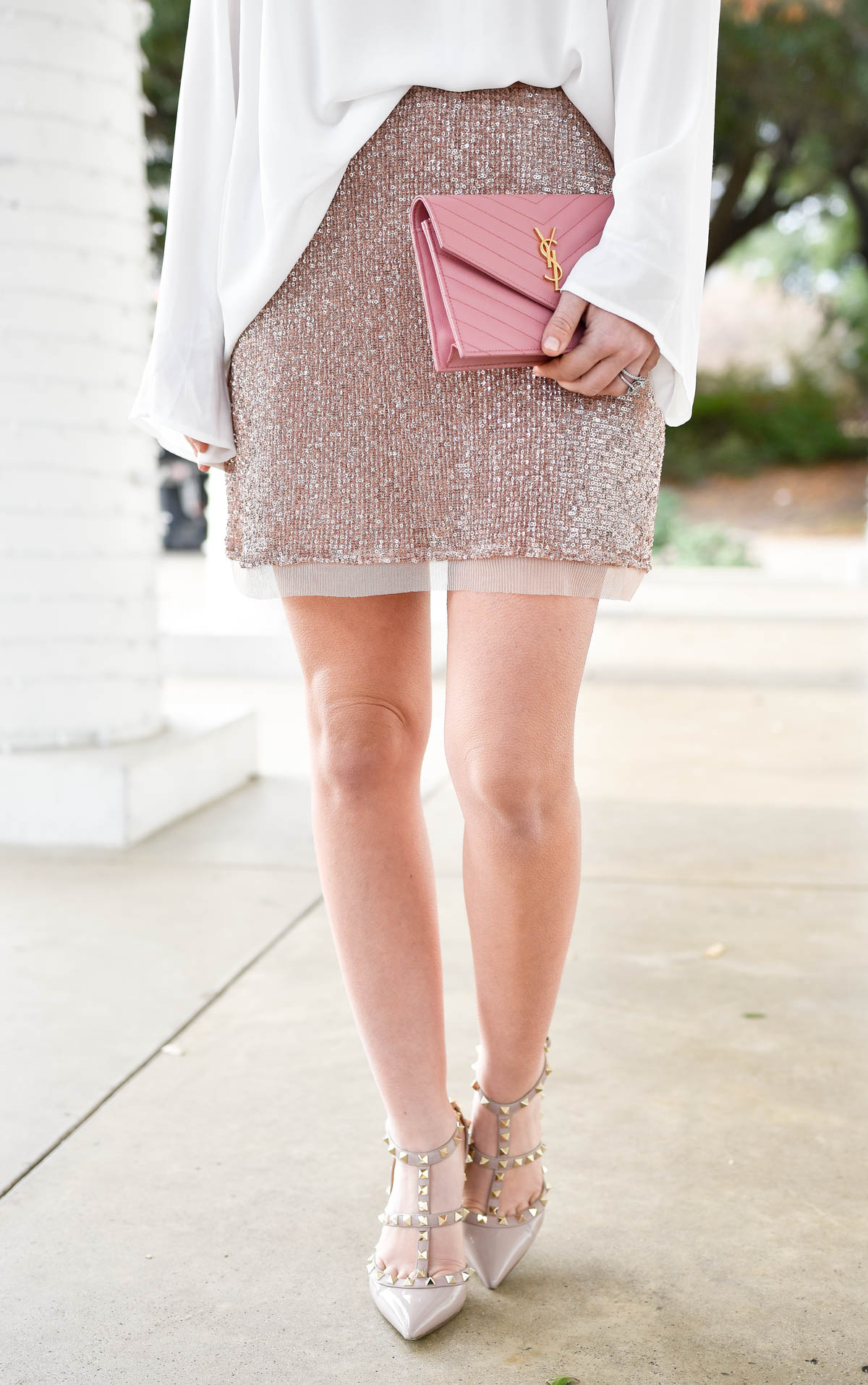pink sequin skirt murphy s
