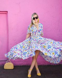 Mexico-City, Colorful-Maxi-Dress, Spell-&-Gypsy-Collective