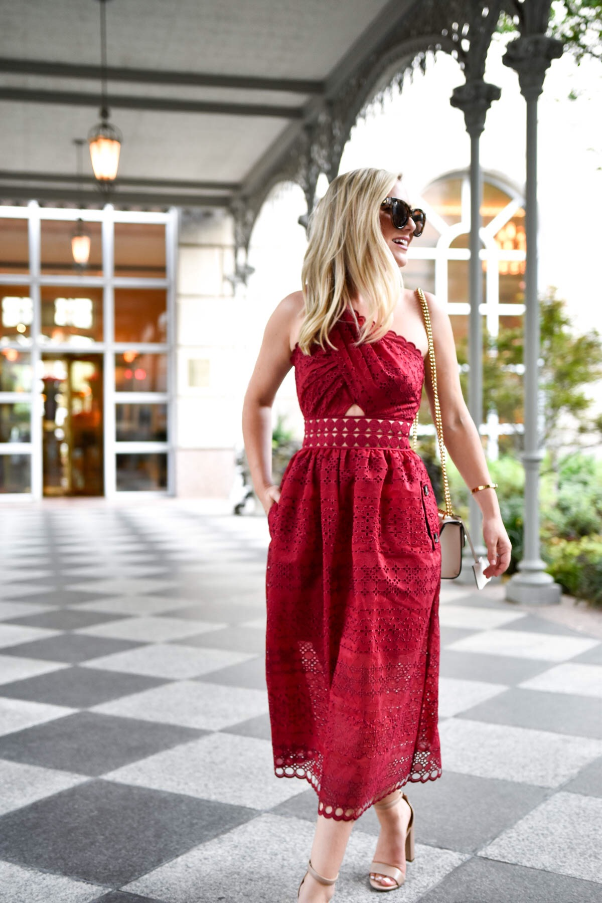 The Perfect Event Dress For Fall One Shoulder Midi Dress