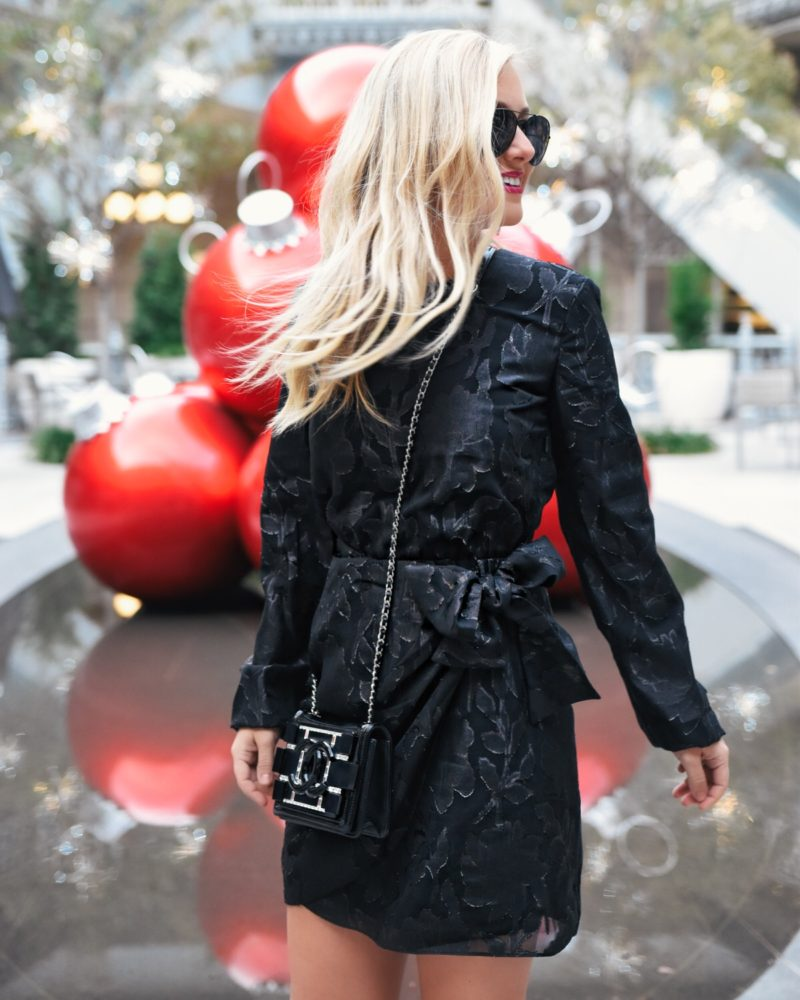 Holiday Dresses, LBD, Little Black Dress, Nordstrom Dresses, Holiday Black Dress, Black Dress under $150, Bardot Black Dress, Chanel Handbag