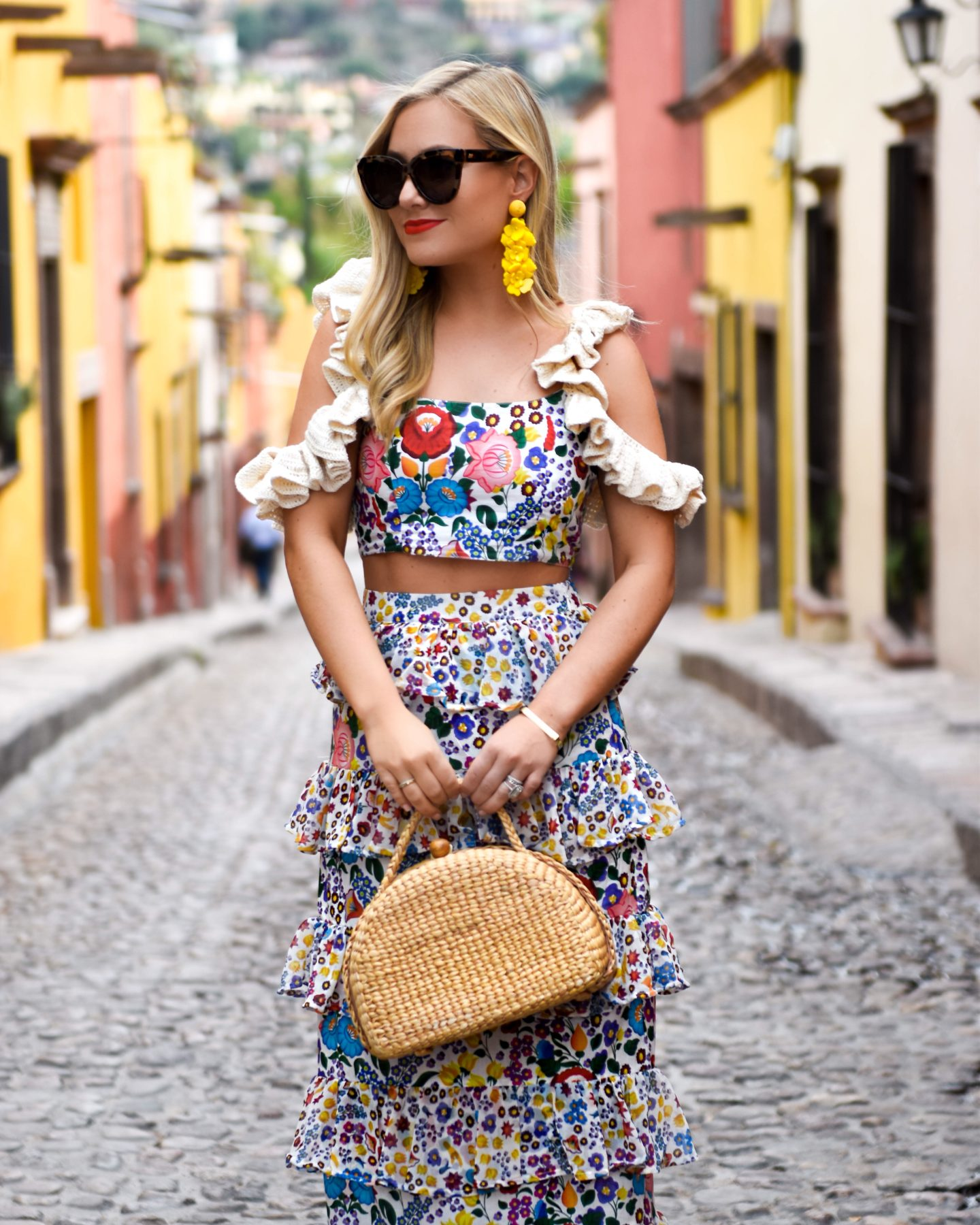 Colorful Matching Set in Mexico