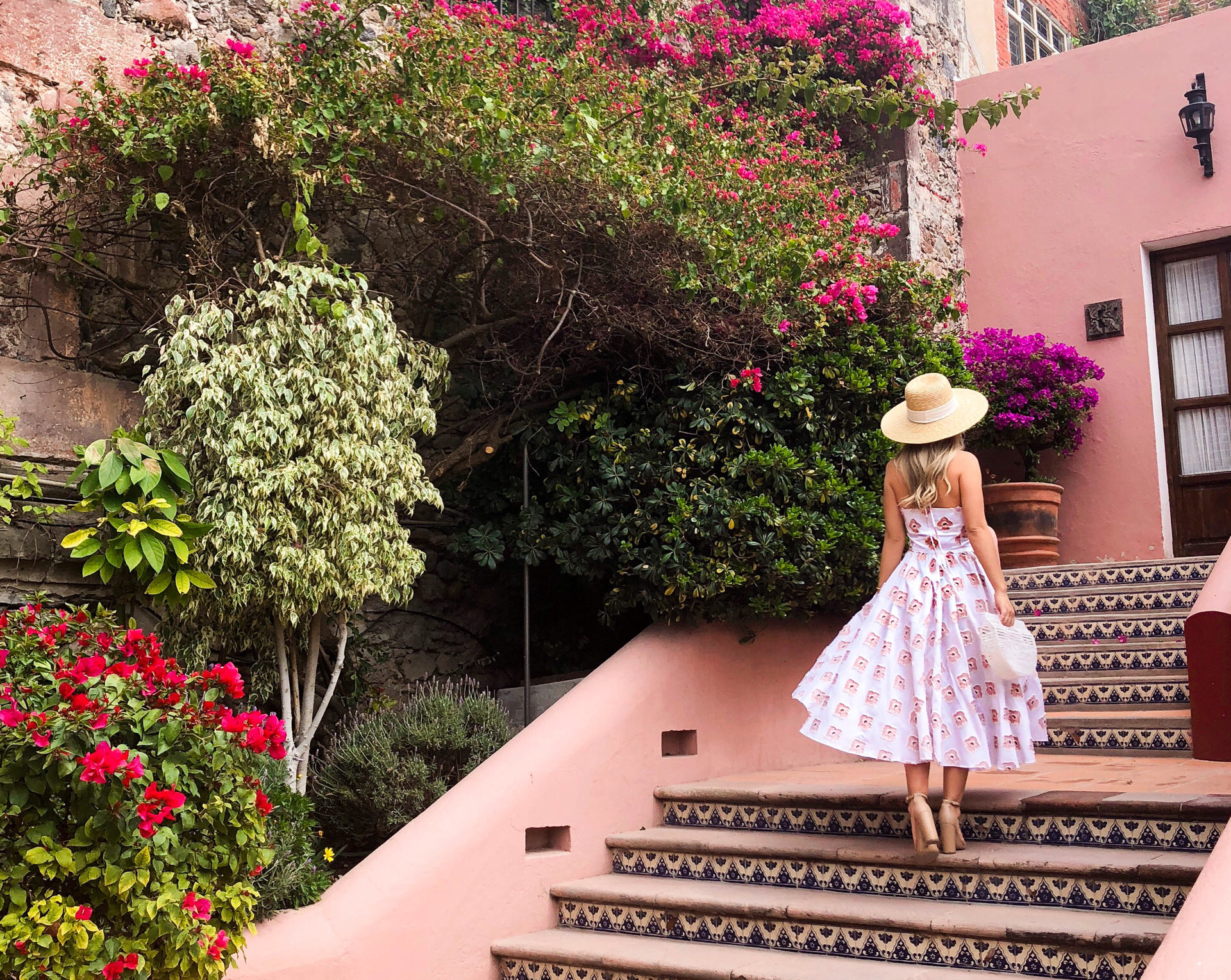 Caroline Constas Dress, Caroline Constas Gretta Dress, Mexico, San Miguel, Fashion Blogger, Travel Blogger, San Miguel Travel Guide