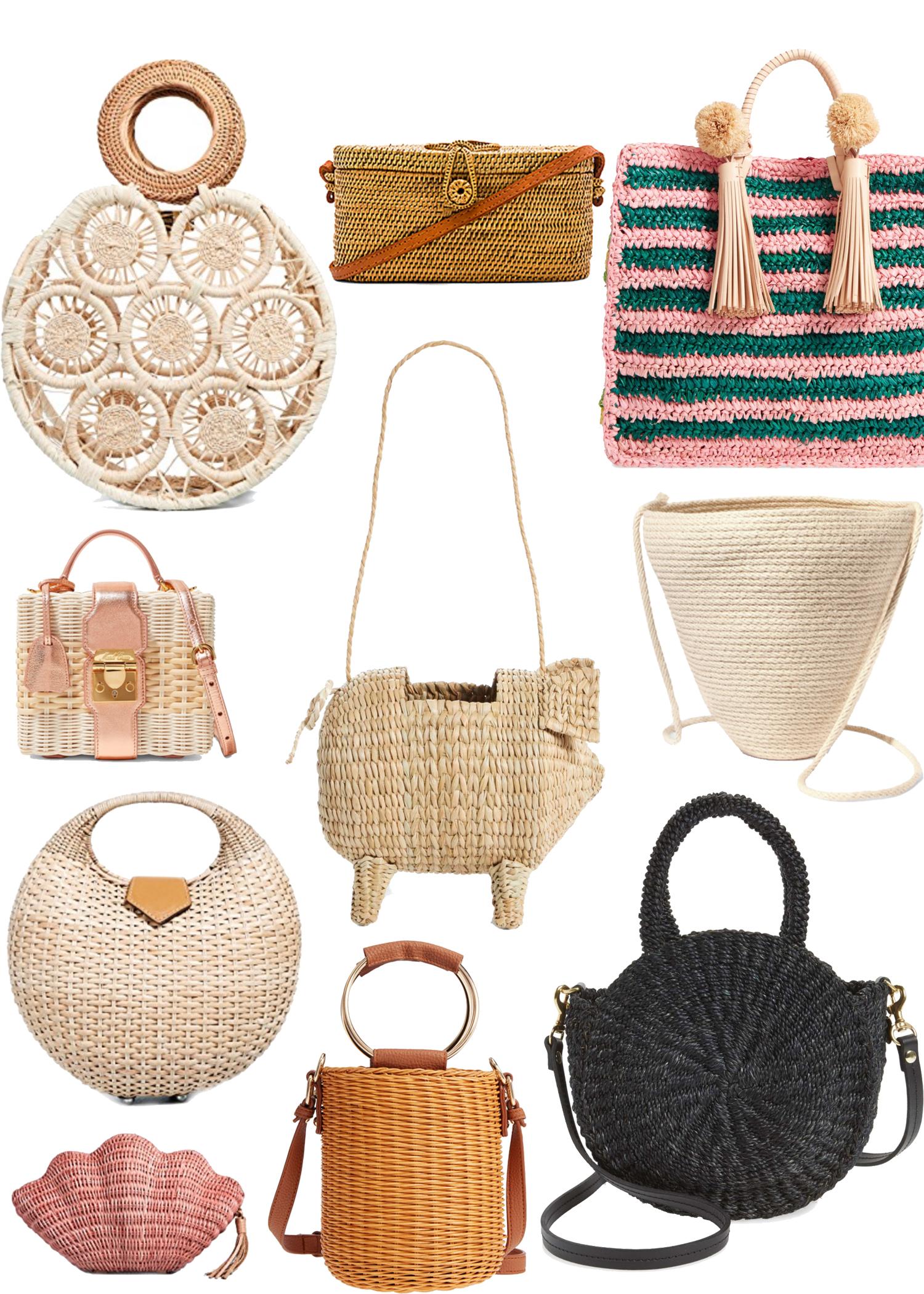 Basket Bags Woven Spring It Bag Trend Cult Gaia Kayu Nordstrom Handbag Bop Loeffler Randall Top Handle