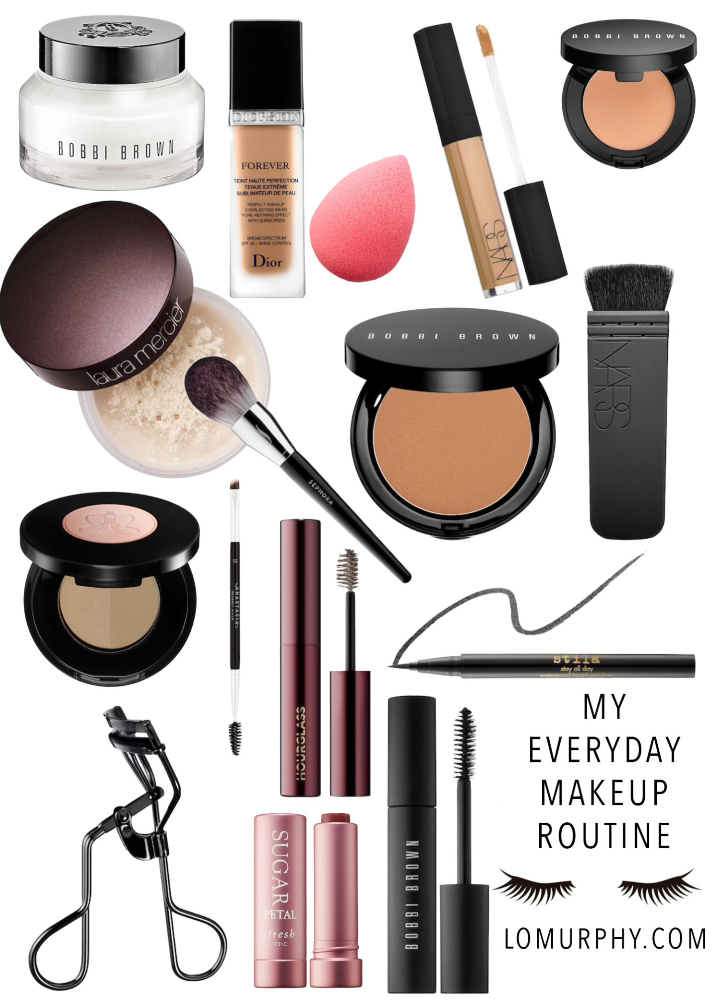 My Everyday Make Up Products