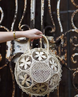 woven bag, wicker bag, top handle bag, handmade woven bag, anthropolgie bag, straw bag