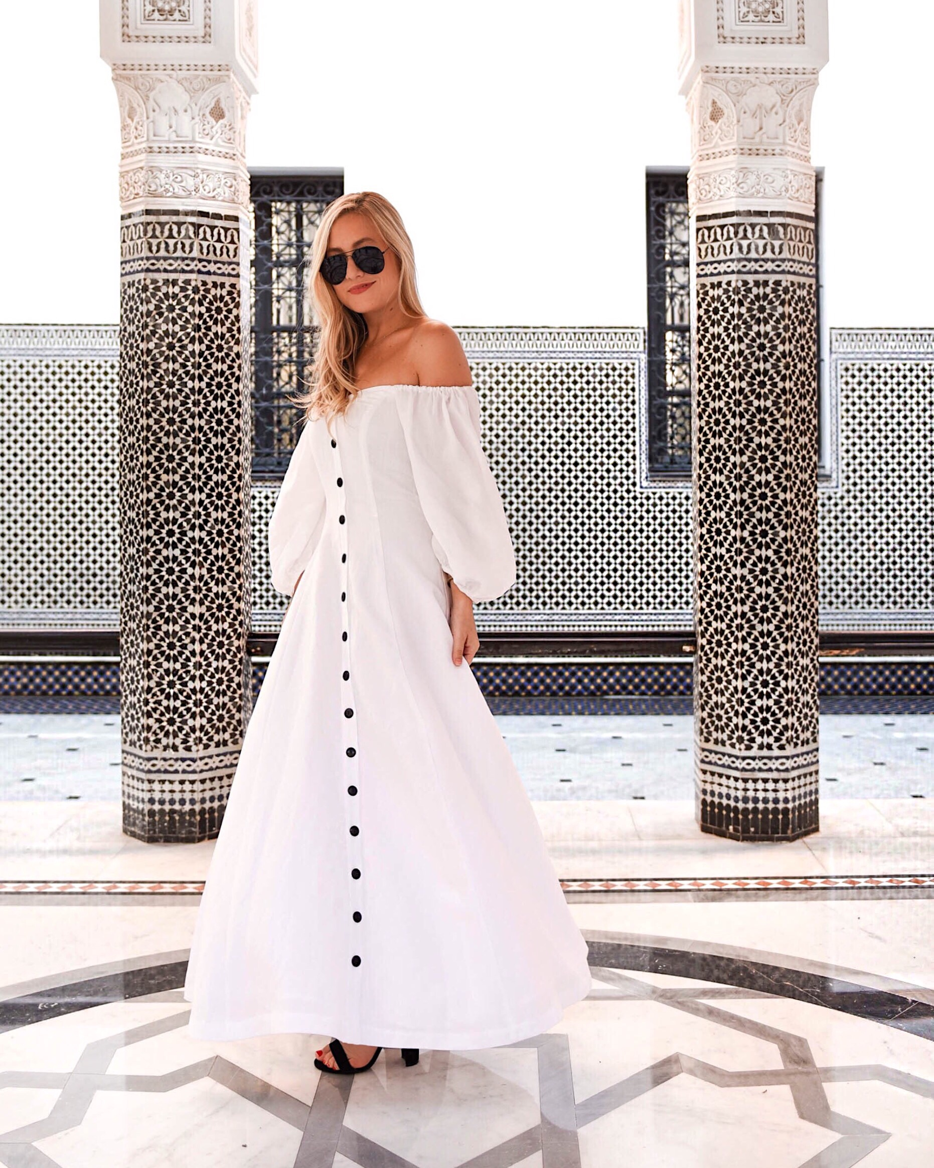 Marrakech-La-Momounia-Lo-Murphy-Mara-Hoffman-Dress-Button-Front-Dress-Travel-Blogger-