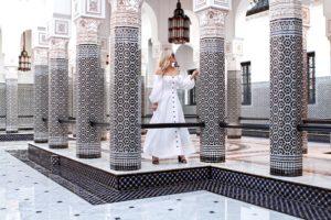 Marrakech-La-Momounia-Lo-Murphy-Mara-Hoffman-Dress-Button-Front-Dress-Travel-Blogger-White-Dress