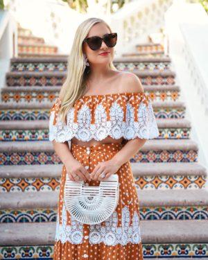 Miguelina-Shopbop-Matching-Set-Lo-Murphy-Miguelina-Orange-Set-Lace-Dress-Cult-Gaia-Bag
