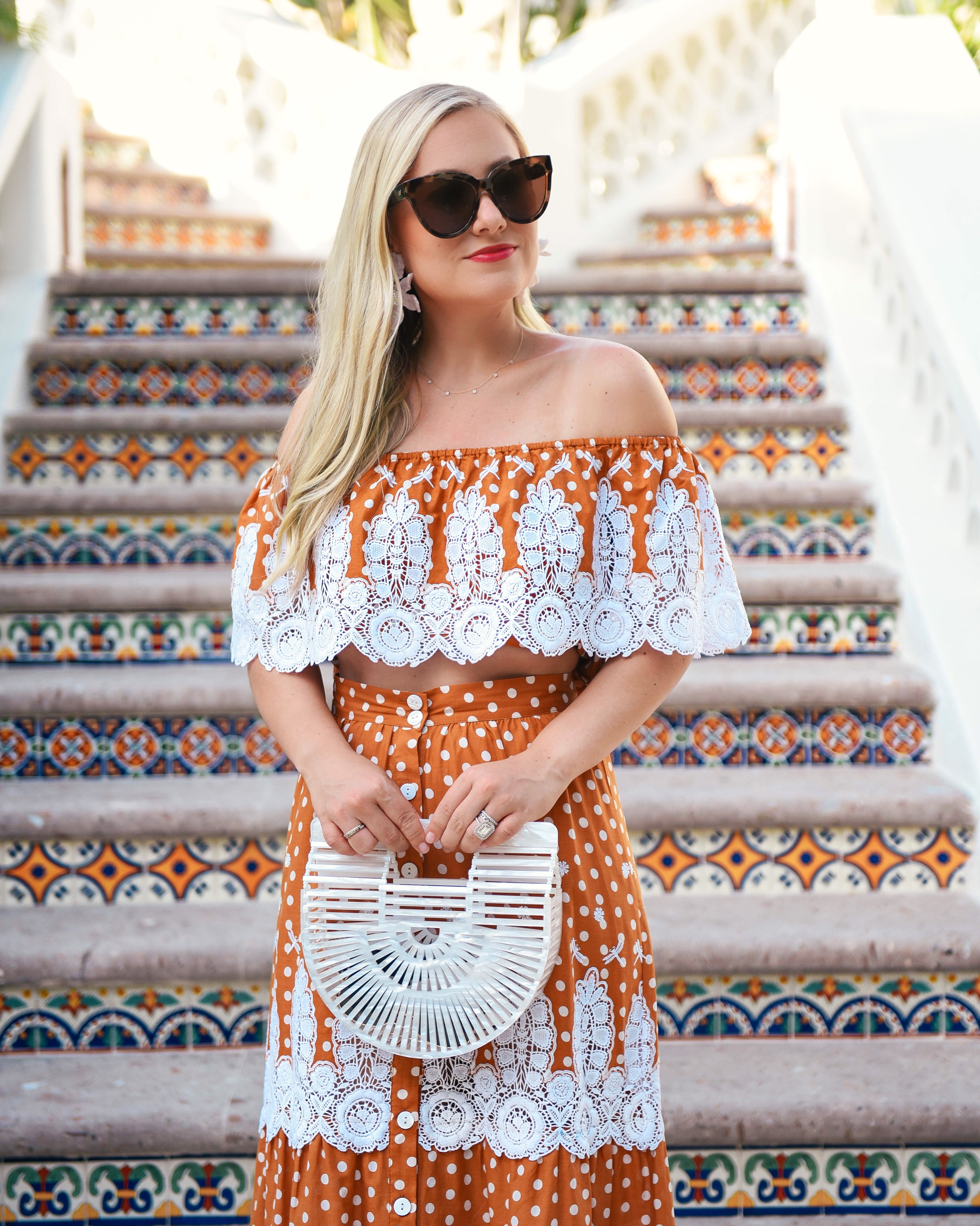 Miguelina-Shopbop-Matching-Set-Lo-Murphy-Miguelina-Orange-Set-Lace-Dress-Cult-Gaia-Bag