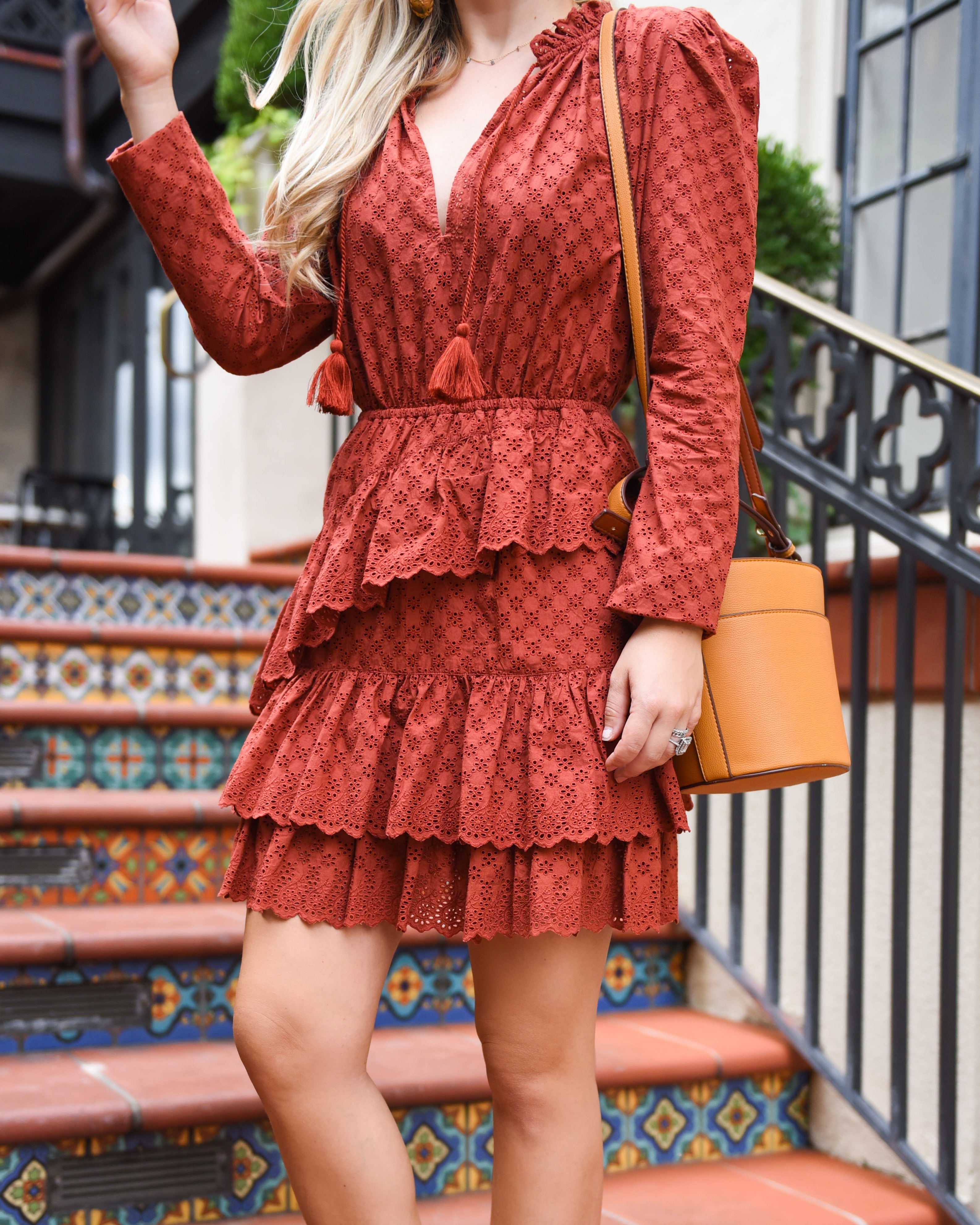 Ulla-Johnson-Dress-Nordstrom-Lo-Murphy-Fall-Outfit-Inspo-fall-colors-dallas-blogger-lace-dress