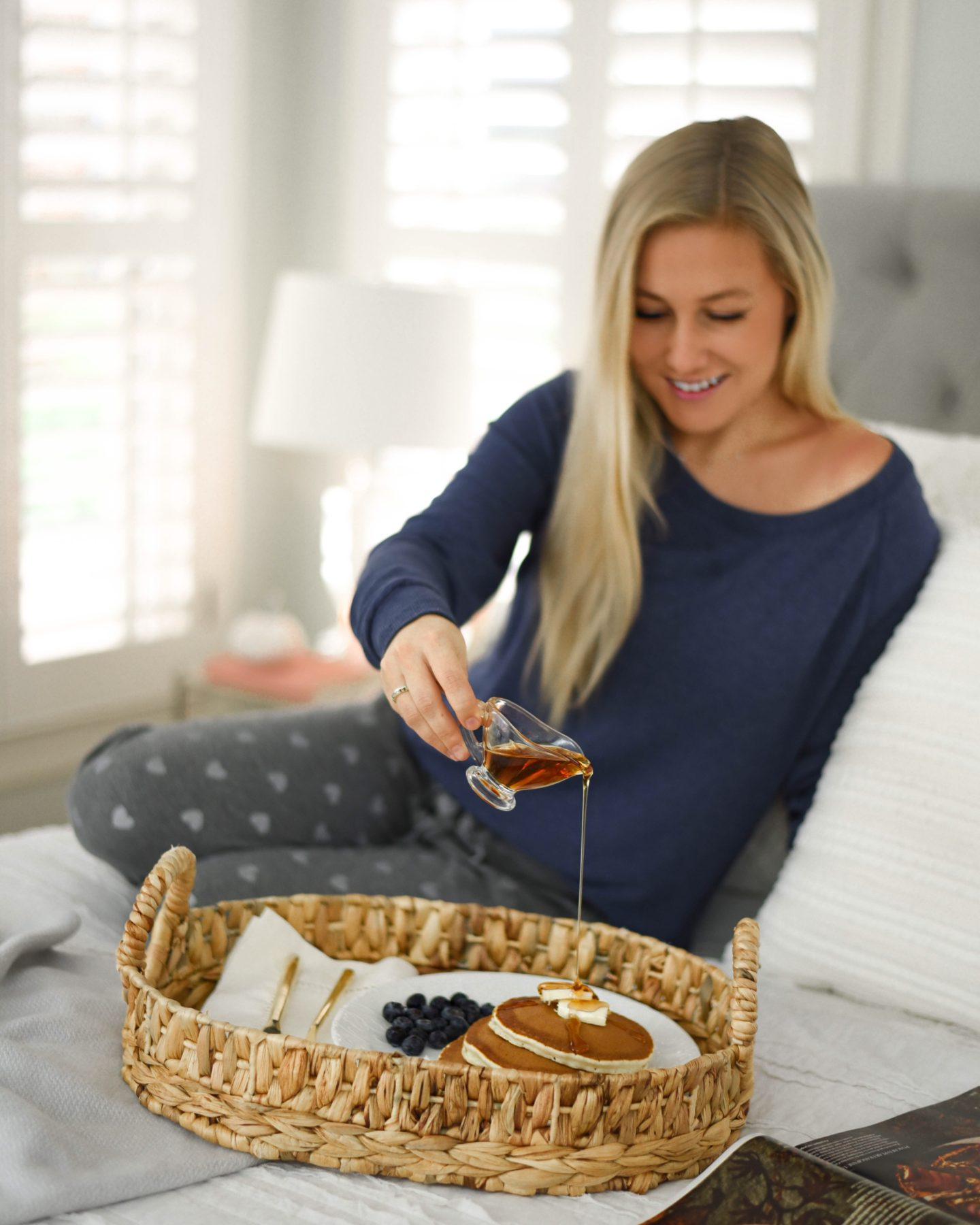 Breakfast In Bed With Bloomingdales