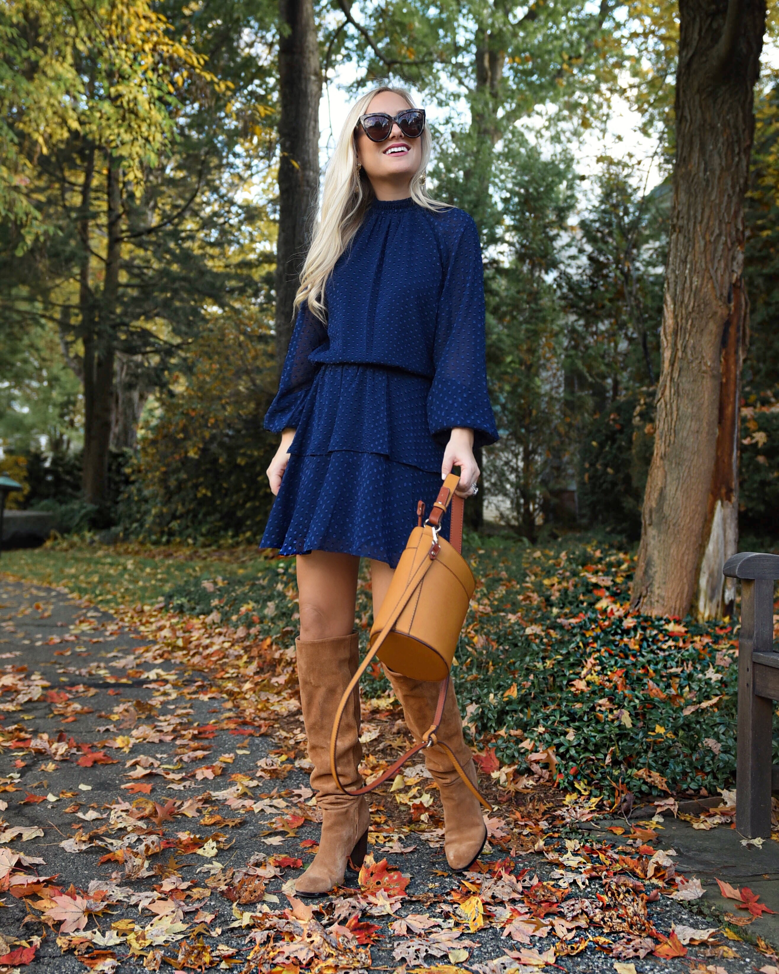 Thanksgiving-outfit-ideas-over-the-knee-boots-lo-murphy-nordstrom-shopbop-casual-dress