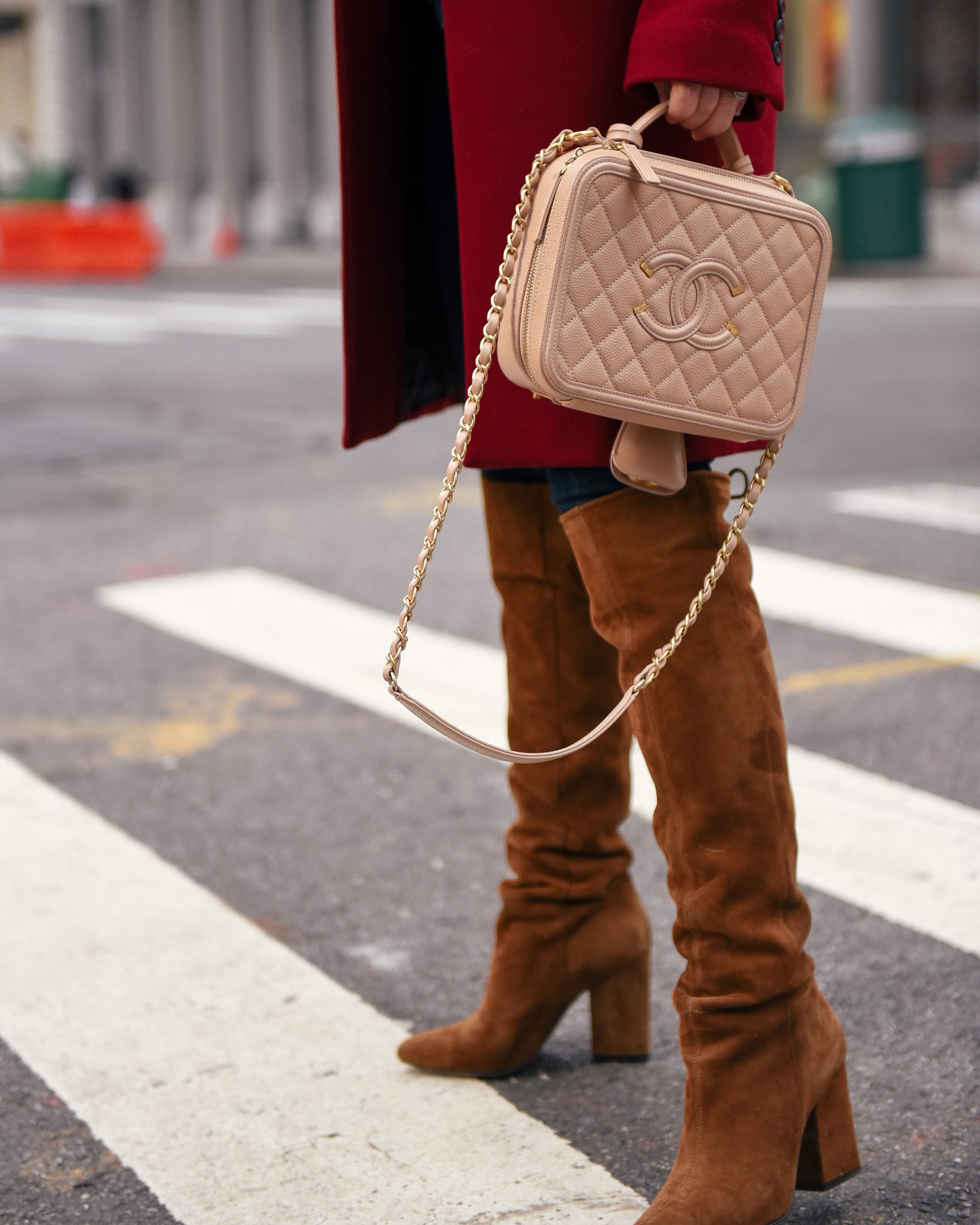 eBay-Coats-Jacket-Red-Coat-New-York-Chanel-Handbag-Winter-Outfit-Lo-Murphy