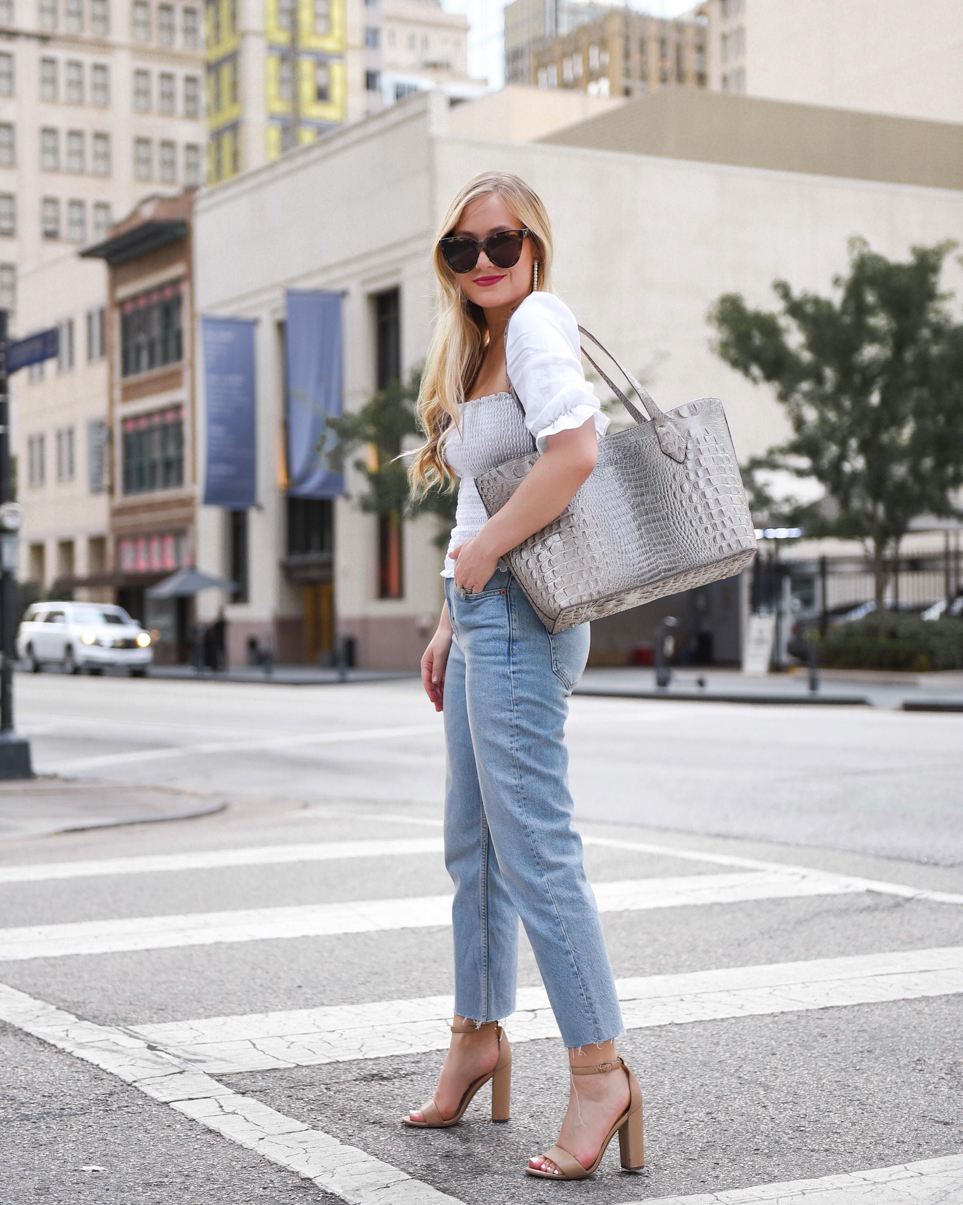 Brahmin-Tote-Bag-Dallas-Blogger-Designer-Handbag-Casual-street-style-Lo-Murphy
