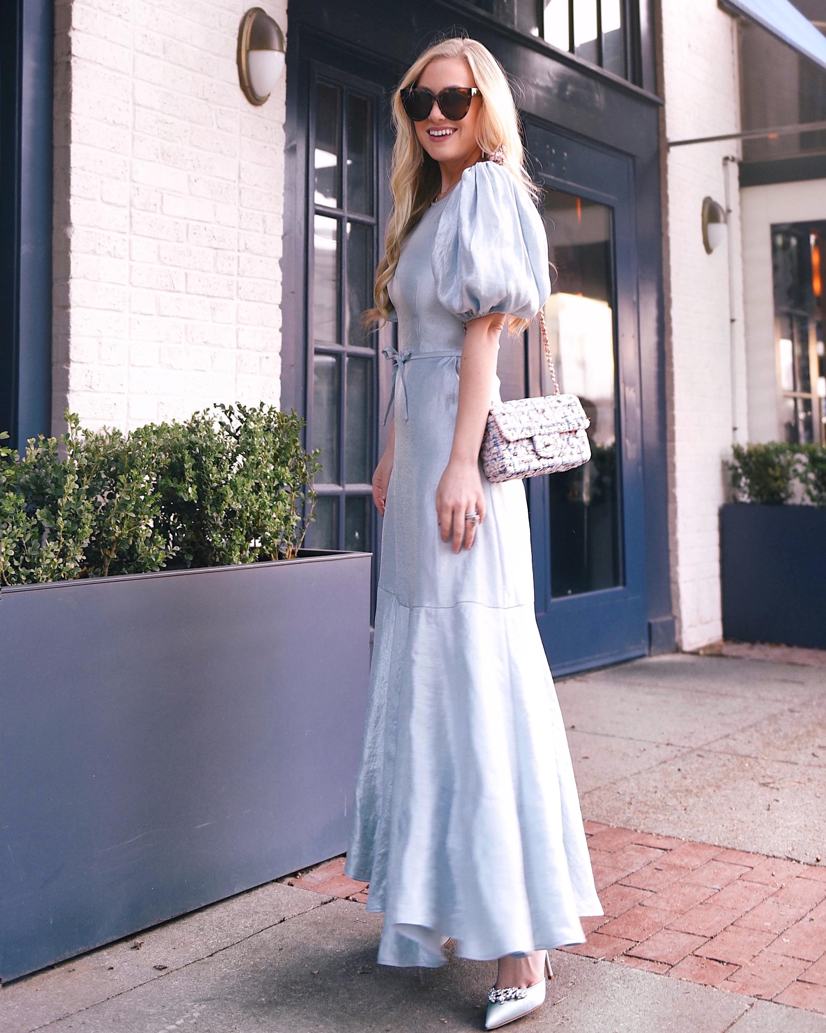 Lo-Murphy-Blue-Dress-Chanel-Handbag-Manolo-Blahnik-Lurum-Dallas-Blogger-Style-Blogger